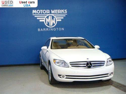 For sale 2009 passenger car mercedes cl 2009 mercedes benz for Motor werks of barrington mercedes benz