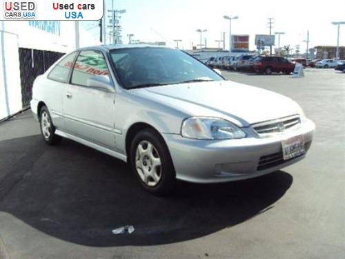for sale 2000 passenger car honda civic ex 2door midway city insurance rate quote price 5998. Black Bedroom Furniture Sets. Home Design Ideas