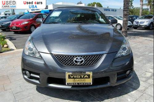 for sale 2008 passenger car toyota camry solara solara sle convertible 2d woodland hills. Black Bedroom Furniture Sets. Home Design Ideas