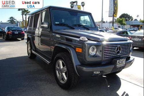 For sale 2008 passenger car mercedes g 2008 mercedes benz for Mercedes benz dealer van nuys