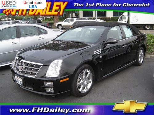 for sale 2008 passenger car cadillac sts 2008 cadillac sts. Black Bedroom Furniture Sets. Home Design Ideas