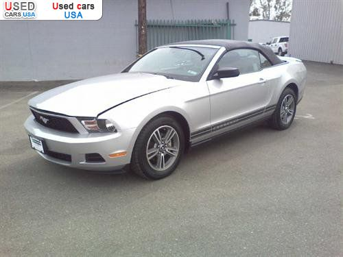 for sale 2010 passenger car ford mustang convertible 2d. Black Bedroom Furniture Sets. Home Design Ideas