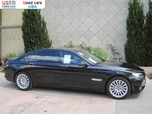 For Sale 2009 Passenger Car Bmw 7 Series Sedan San Jose