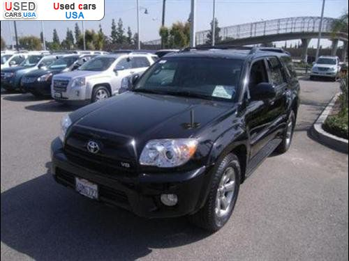 for sale 2007 passenger car toyota 4runner limited burbank insurance rate quote price 22599. Black Bedroom Furniture Sets. Home Design Ideas