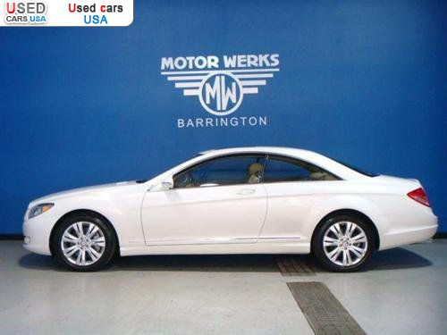 For sale 2009 passenger car mercedes cl 2009 mercedes benz for Motor werks barrington used cars