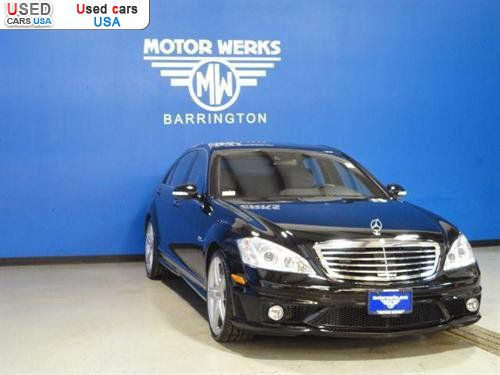 For sale 2008 passenger car mercedes s 2008 mercedes benz for Motor werks barrington used cars