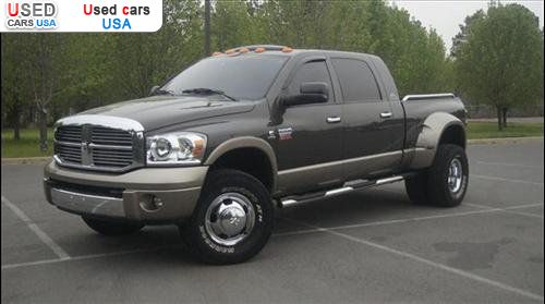for sale 2008 passenger car dodge ram 3500 mega cab little rock insurance rate quote price. Black Bedroom Furniture Sets. Home Design Ideas