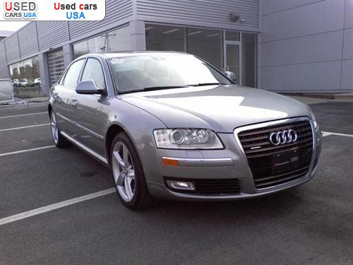 for sale 2008 passenger car audi a8 4 2 watertown insurance rate quote price 51990 used cars. Black Bedroom Furniture Sets. Home Design Ideas