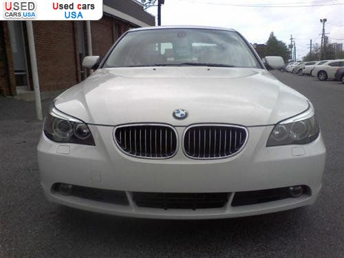 Car Market in USA - For Sale 2007  BMW 5 Series Sedan