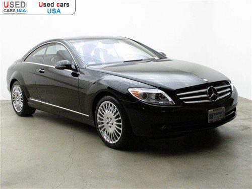 For sale 2007 passenger car mercedes cl 2007 mercedes benz for Mercedes benz insurance cost