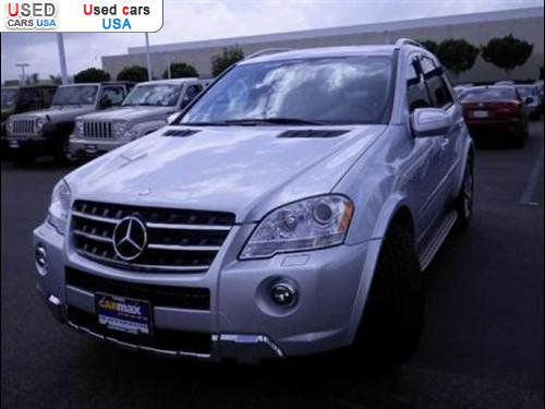 For sale 2009 m 2009 mercedes benz m class 6 3l amg for Mercedes benz insurance cost