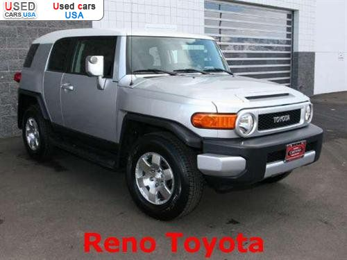 for sale 2007 passenger car toyota fj cruiser reno insurance rate quote price 24493 used cars. Black Bedroom Furniture Sets. Home Design Ideas