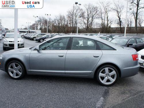 for sale 2008 passenger car audi a6 3 2 quattro awd newark insurance rate quote price 31999. Black Bedroom Furniture Sets. Home Design Ideas