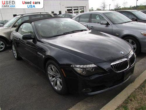 for sale 2008 passenger car bmw 6 series convertible roswell insurance rate quote price 46998. Black Bedroom Furniture Sets. Home Design Ideas