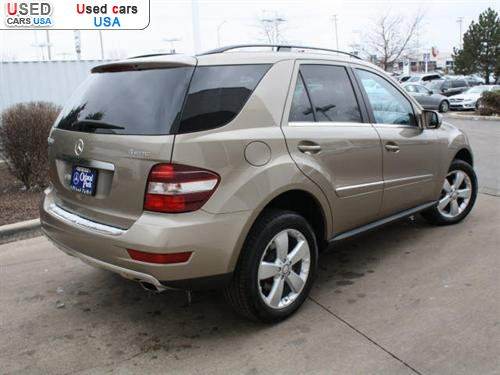 For sale 2010 m 2010 mercedes benz m class 3 5l orland for Mercedes benz of orland park