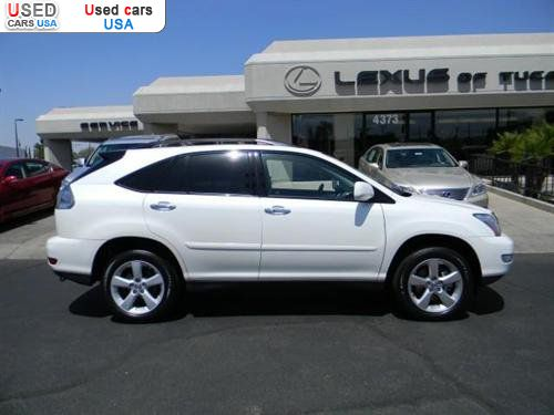 For Sale 2009 passenger car Lexus RX 350 Sport Utility 4D