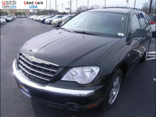 for sale 2008 passenger car chrysler pacifica touring. Black Bedroom Furniture Sets. Home Design Ideas