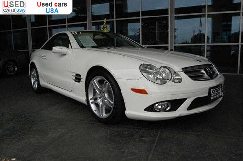 Car Market in USA - For Sale 2007  Mercedes Sl 2007 Mercedes-Benz SL-Class 5.5L V8