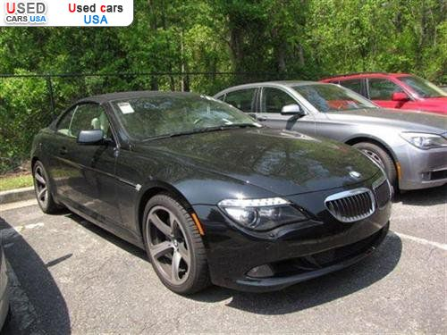 for sale 2008 passenger car bmw 6 series convertible roswell insurance rate quote price 54998. Black Bedroom Furniture Sets. Home Design Ideas