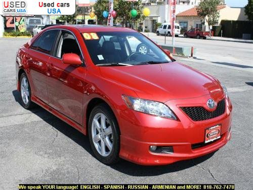 for sale 2008 passenger car toyota camry 4dr sdn v6 auto se north hollywood insurance rate. Black Bedroom Furniture Sets. Home Design Ideas