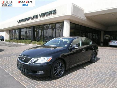 For Sale 2010 passenger car Lexus GS 460 Sedan 4D, Las Vegas ...