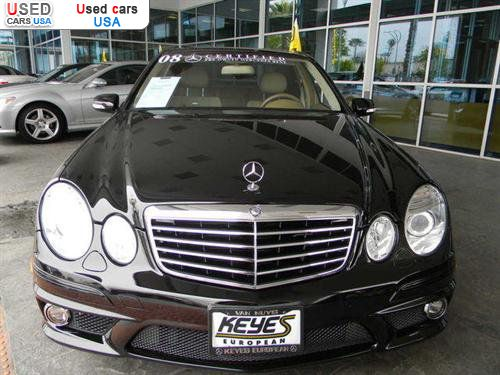 For sale 2008 passenger car mercedes e 2008 mercedes benz for Mercedes benz insurance cost