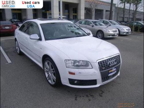 For Sale 2007 passenger car Audi S8 quattro AWD, Torrance ...