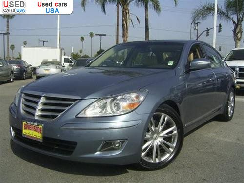 for sale 2009 passenger car hyundai genesis 4 6 riverside. Black Bedroom Furniture Sets. Home Design Ideas
