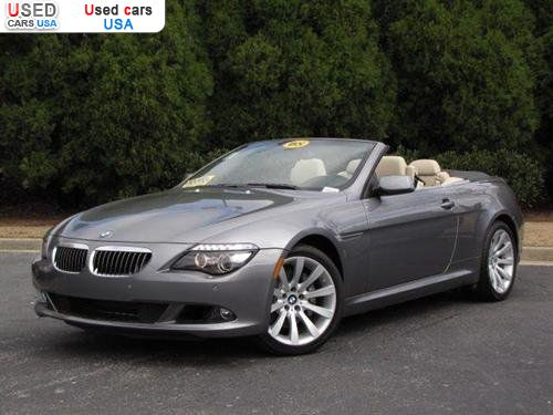 for sale 2008 passenger car bmw 6 series convertible roswell insurance rate quote price 59998. Black Bedroom Furniture Sets. Home Design Ideas
