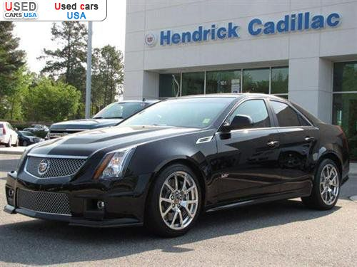 for sale for 59998 passenger car cadillac cts v v sedan 2010 cary. Cars Review. Best American Auto & Cars Review