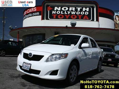 Used Corolla Thousand Oaks >> For Sale 2010 passenger car Toyota Corolla 4dr Sdn Auto LE, North Hollywood, insurance rate ...