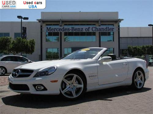 For sale 2009 passenger car mercedes sl 2009 mercedes benz for Mercedes benz of chandler arizona