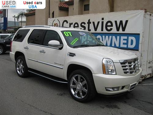 for sale 2007 passenger car cadillac escalade luxury west covina insurance rate quote price. Black Bedroom Furniture Sets. Home Design Ideas