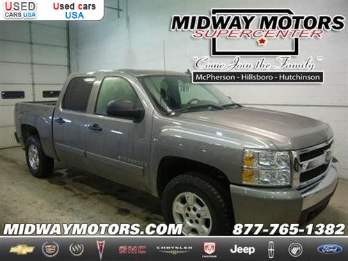 For sale 2007 passenger car chevrolet silverado 1500 k for Midway motors used car supercenter mcpherson ks
