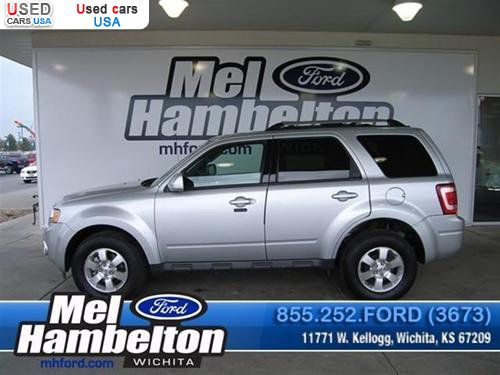 for sale 2010 passenger car ford escape limited wichita insurance rate quote price 24175. Black Bedroom Furniture Sets. Home Design Ideas