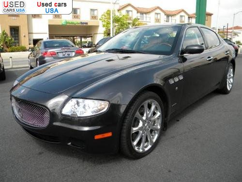 for sale 2007 passenger car maserati quattroporte m139. Black Bedroom Furniture Sets. Home Design Ideas