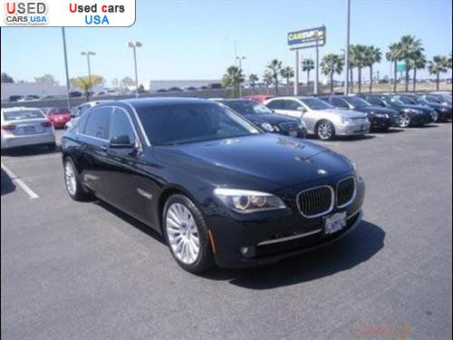 for sale 2009 passenger car bmw 7 series sedan duarte insurance rate quote price 63998 used. Black Bedroom Furniture Sets. Home Design Ideas
