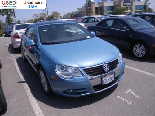 Car Market in USA - For Sale 2008  Volkswagen Eos Lux