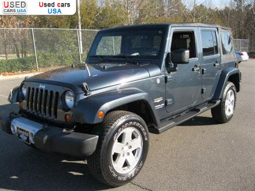 for sale 2008 passenger car jeep wrangler unlimited sahara cary insurance rate quote price. Black Bedroom Furniture Sets. Home Design Ideas