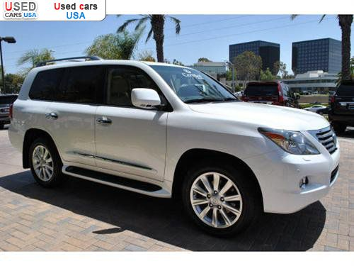 for sale 2010 passenger car lexus lx 570 570 newport beach insurance rate quote price 78995. Black Bedroom Furniture Sets. Home Design Ideas