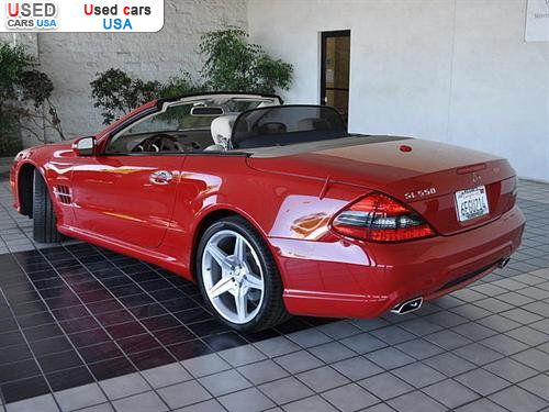 For sale 2009 passenger car mercedes sl 2009 mercedes benz for Mercedes benz insurance cost