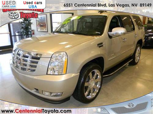 for sale 2007 passenger car cadillac escalade luxury las vegas insurance rate quote price. Black Bedroom Furniture Sets. Home Design Ideas