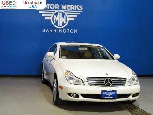 For sale 2008 passenger car mercedes cls 2008 mercedes for Motor werks barrington used cars