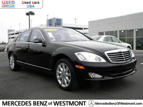 For sale 2008 passenger car mercedes s 2008 mercedes benz for Mercedes benz of westmont il