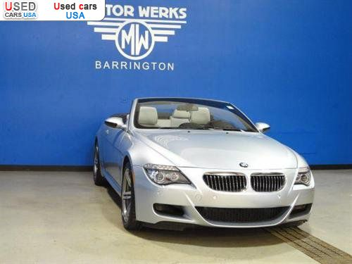 For sale 2008 passenger car bmw 6 series convertible for Motor werks barrington used cars