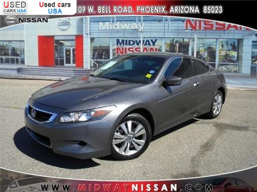 For Sale 2008 passenger car Honda Accord Coupe 2 Door I4
