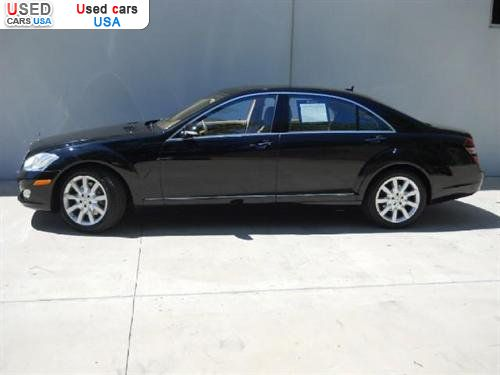 For sale 2007 passenger car mercedes s 2007 mercedes benz for Mercedes benz s class price in usa