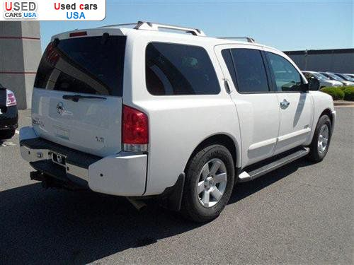 for sale 2006 passenger car nissan armada le conway insurance rate quote price 20988 used cars. Black Bedroom Furniture Sets. Home Design Ideas