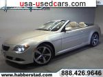 2008 BMW 6 Series Convertible  used car