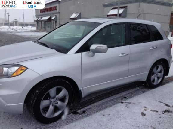 For Sale 2007 Passenger Car Acura Rdx Harrod Insurance border=
